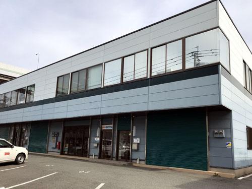 新事務所 (向かって右から2棟目)