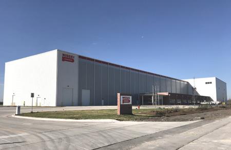 米国テキサス工場の外観写真